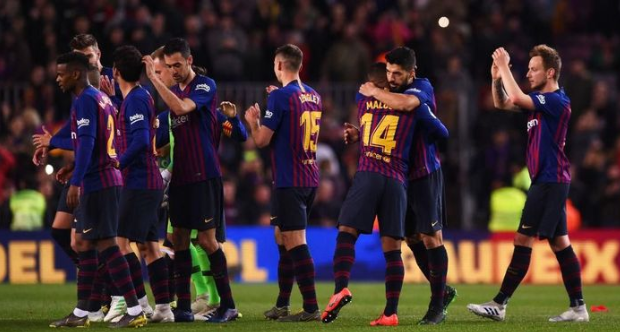 Jornada Ke-31 La Liga Spanyol Barcelona Kian Penuh Tantangan