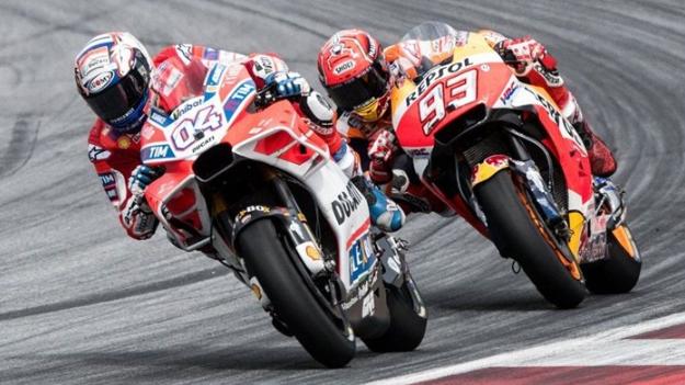 Klasemen MotoGP Dovizioso Teratas, Marquez Merosot