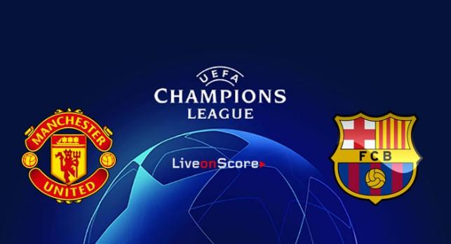 MU vs Barcelona 1