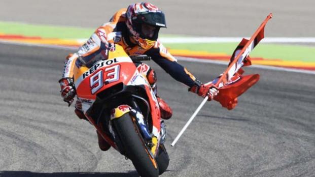 Podium Marquez Di Gelaran MotoGP Argentina 2019