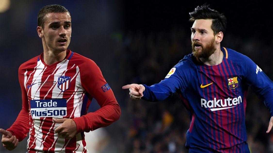 Prediksi Starting Eleven Barcelona vs Atletico Madrid