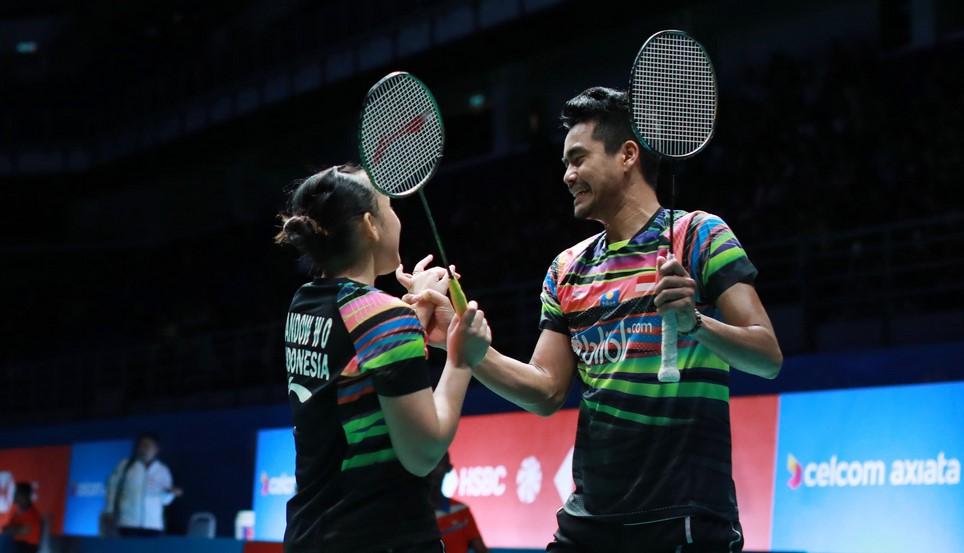 Winny Oktavina Kandou dan Tontowi Ahmad Tidak Masuk Ke Babak Semifinal Malaysia Open 20192