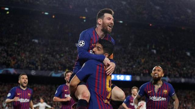Barcelona 502 Gol
