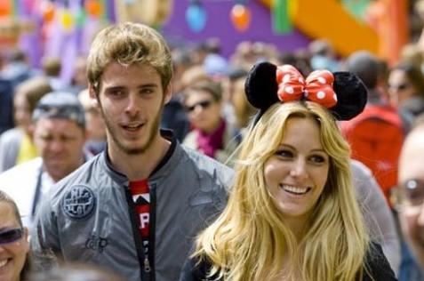 Bosan LDR, Si Cantik Edurne Dukung Kekasihnya David de Gea Gabung Real Madrid
