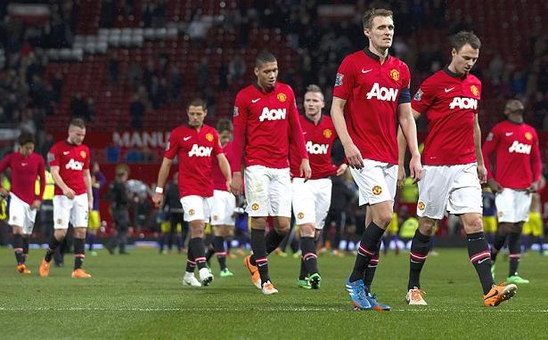 Manchester United di musim terpuruknya