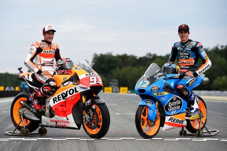 Marquez dan Alex juara le mans