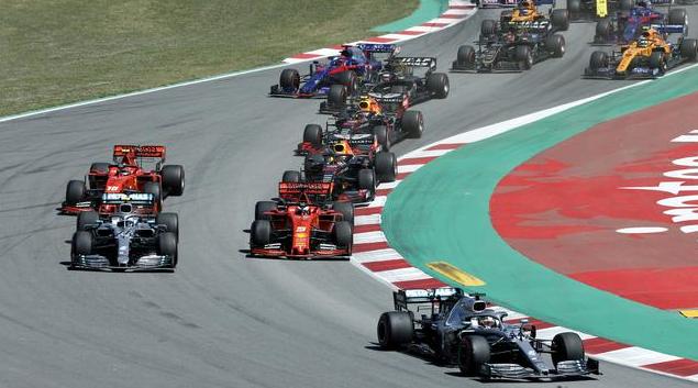 Mercedez Lanjutkan Dominasi Di F1 GP Spanyol
