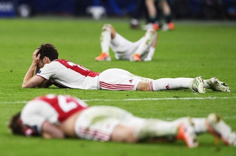 Pasca Kalah, Ajax Kini Tahu Pedihnya Perasaan Madrid Dan Juventus