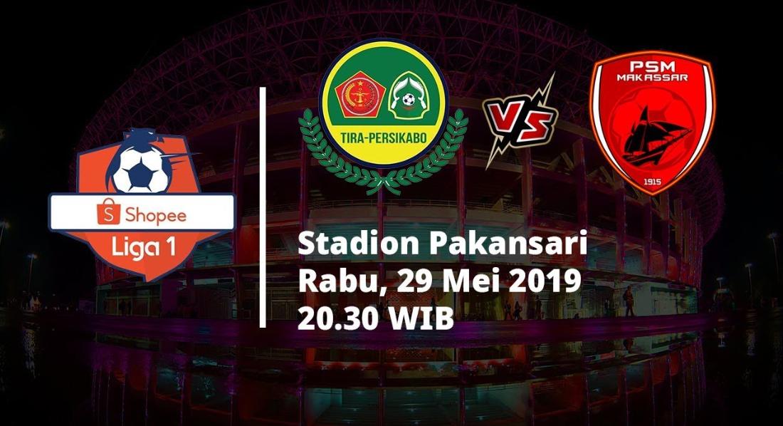 Perkiraan Pemain Tira Persikabo Vs PSM Makassar