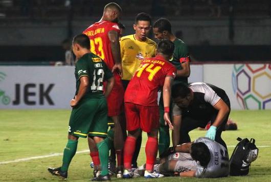 Persebaya Surabaya Vs Kalteng Putra skor 1-1