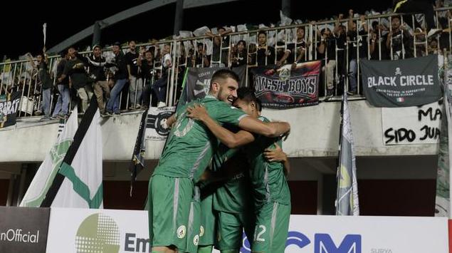 Sleman VS Arema FC Skor 3-1