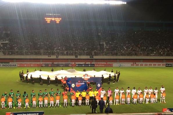 Supporter Arema FC Dan PSS Sleman Rusuh, Korban Luka Ringan Berjatuhan