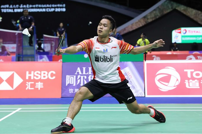 anthony ginting piala sudirman 2019