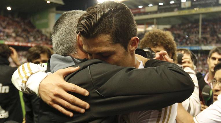 hug ronaldo