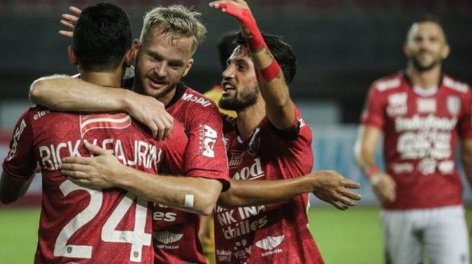 man of the match lilipaly Bali united'
