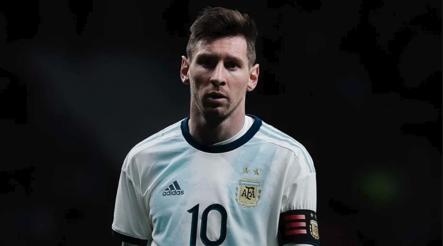 messi with argentina