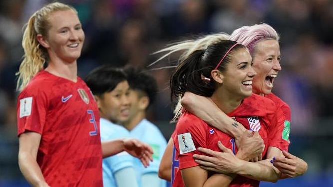Amerika Serikat Membuat Catatan Baru Di Piala Dunia Wanita 2019