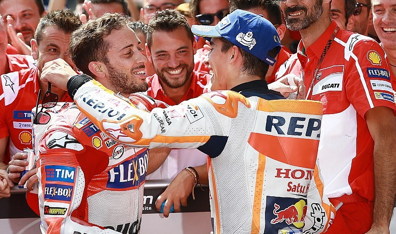 Andrea Dovizioso Percaya Diri Akan Kejar Poin Marc Marquez