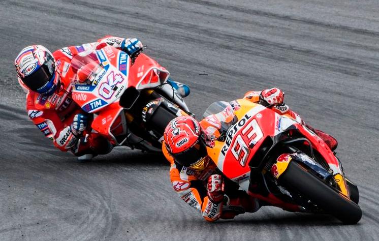 Andrea Dovizioso Percaya Diri Akan Kejar Poin  Marquez