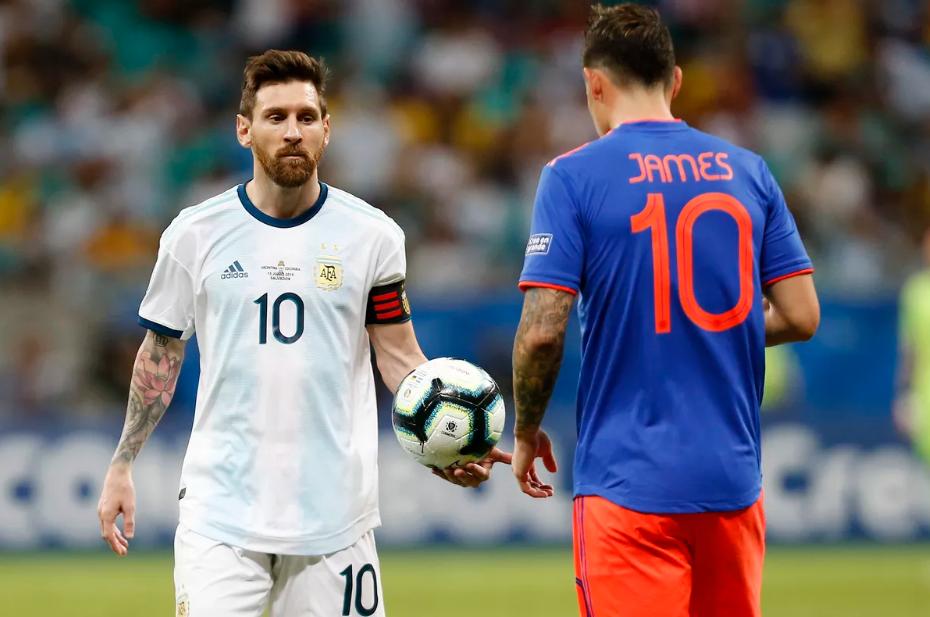 Argentina Vs Kolombia skor 0-2