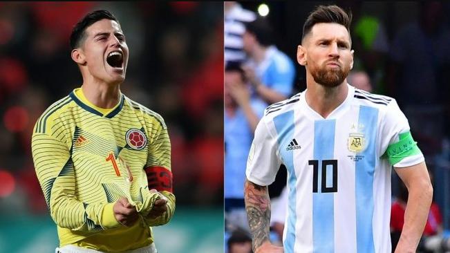 Argentina digulung 0-2 oleh Kolombia