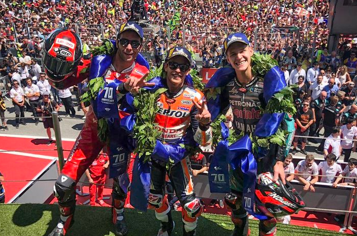 Fabio Quartararo Angkat Bicara Tentang Peran Timnya Pada MotoGP Catalunya