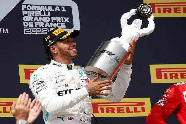 Lewis Hamilton Berhasil Menjadi Juara Di GP Prancis