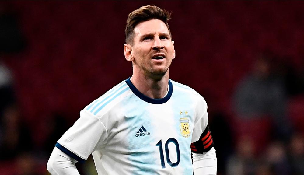Lionel Messi belum mampu beri trofi untuk Argentina