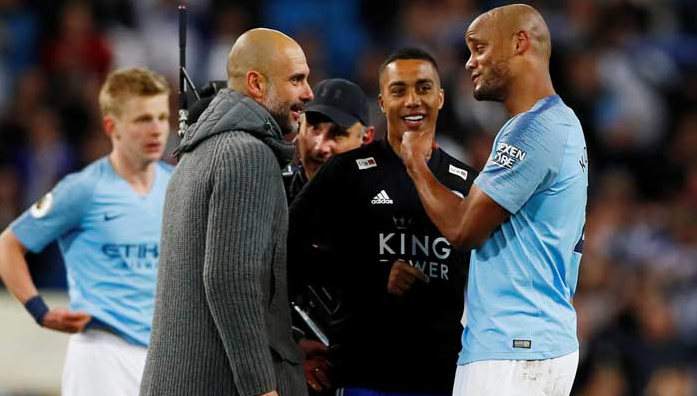 Pep and kompany