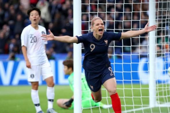 Prancis Unggul Atas Korea Selatan