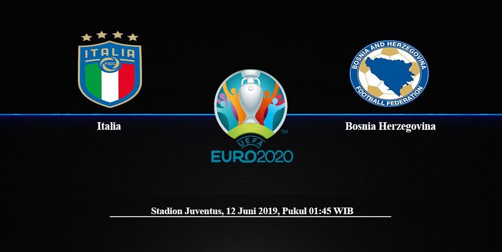 Prediksi Pertandingan Italia Vs Bosnia & Herzegovina