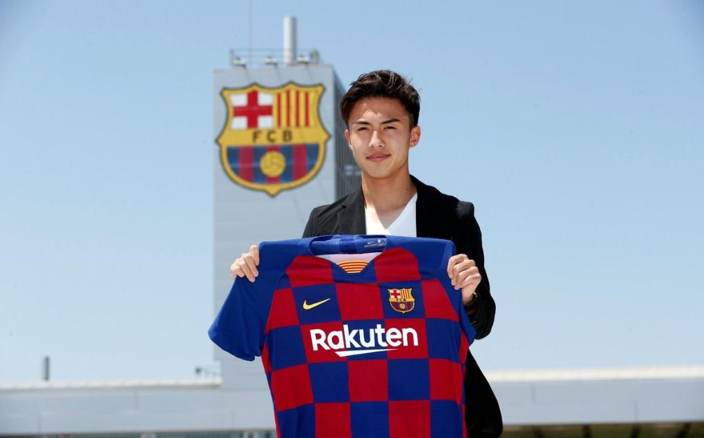 Abe gabung barcelona