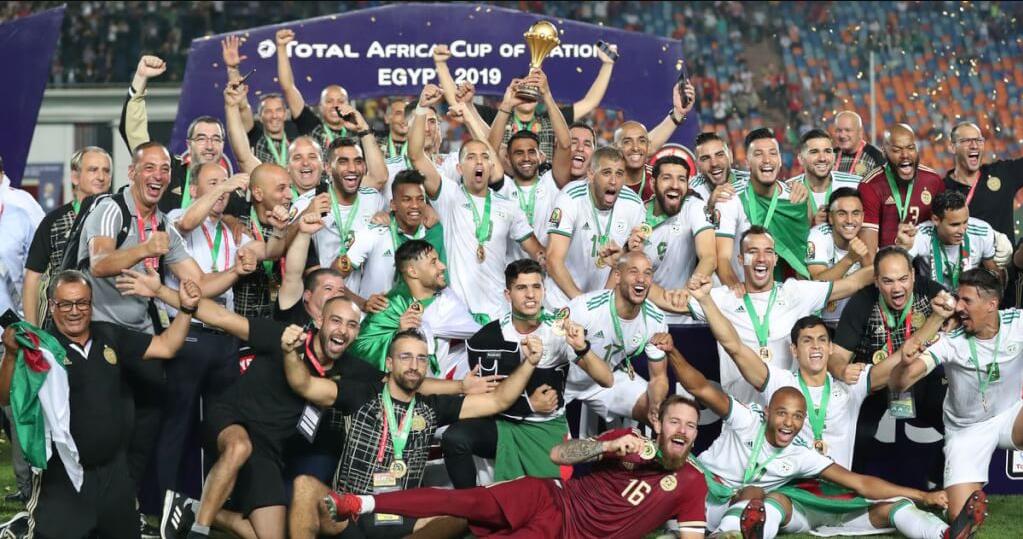 Aljazair juara piala afrika