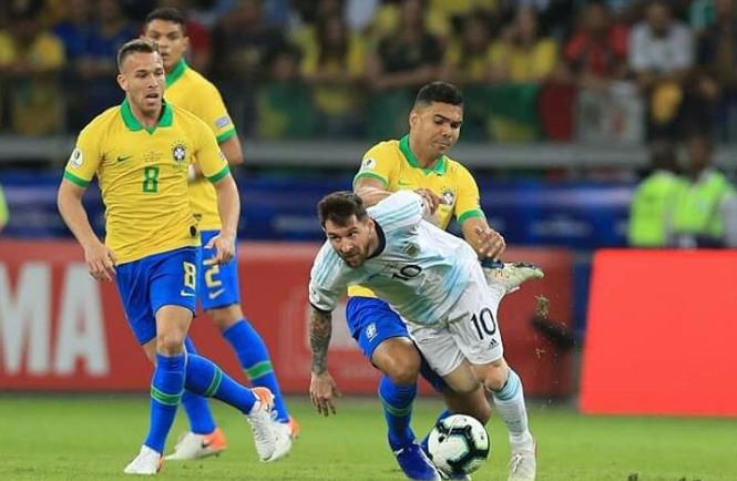 Brasil Berhasil Bungkam Argentina Dengan Skor Tanpa Balas