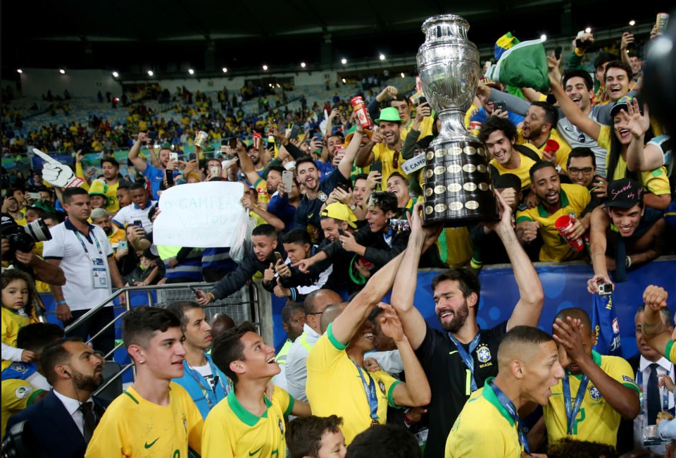 Brasil win Copa America 2019