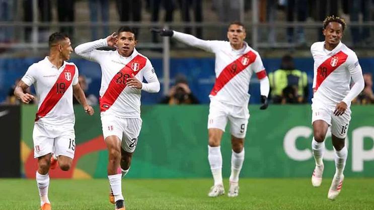 Hasil Copa America Tumbangkan Chile, Peru Rasakan Final Kembali Setelah 44 Tahun