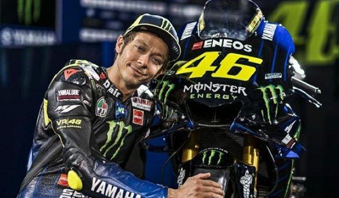 MotoGP Jerman 2019 Rossi Cukup Puas Dengan Performa Kuda Besinya