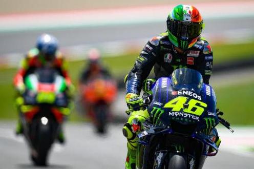 MotoGP Jerman  Rossi Cukup Puas Dengan Performa Kuda Besinya
