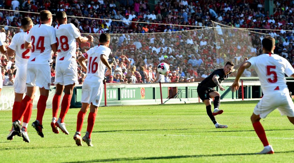 Sevilla and Liverpool