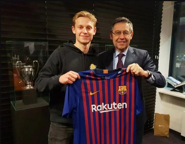 The Jong in Barcelona