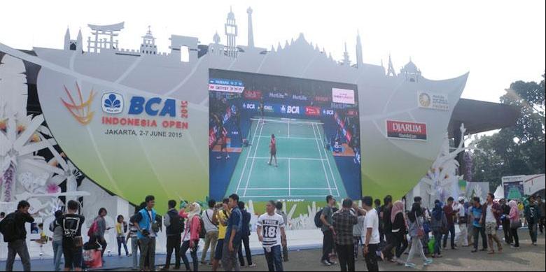 giant screen indonesia open