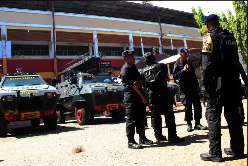 kepolisian kawal final piala indonesia