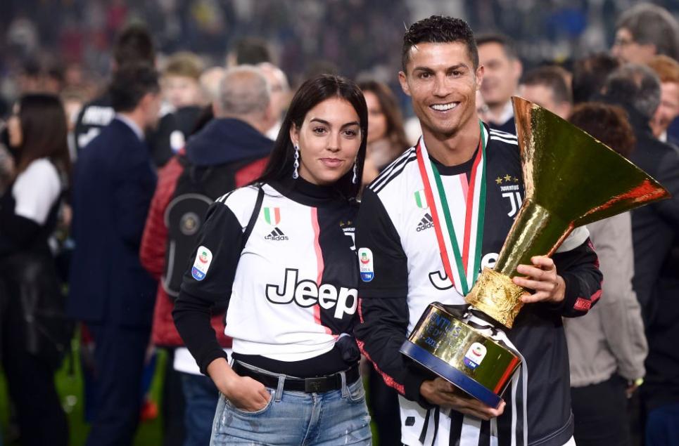 Ronaldo and Giorgina