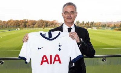 Mourinho bergabung dengan Tottenham