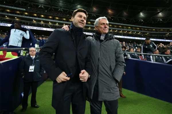 Mourinho dan Pochettino ketika keduanya masih di La Liga