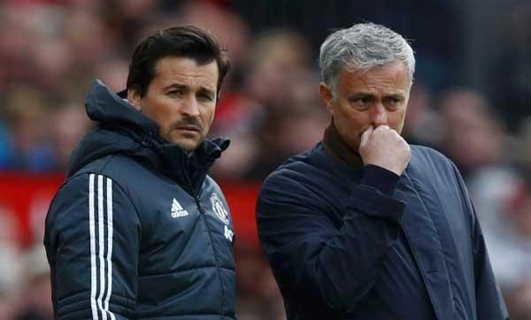 Rui Faria tidak lagi bergabung dengan Mourinho