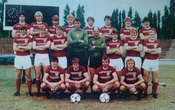 Tim Dynamo Berlin pada tahun 1983