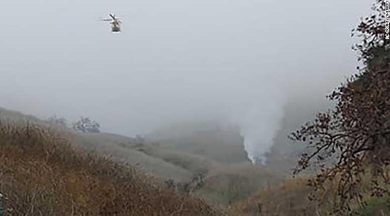 lokasi-kecelakaan-helikopter-Kobe-Bryant