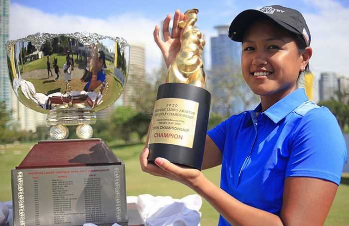 Abby Arevalo Menangkan Gelar Philippine Ladies Open 2020