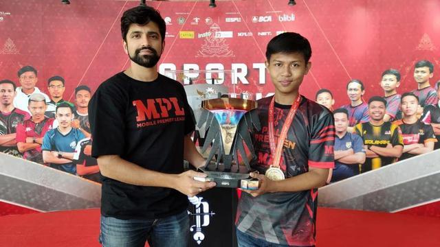 Aby Ramadhan juara MPL Piala Presiden Esports 2020
